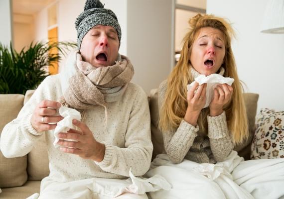 unngå å bli forkjølet