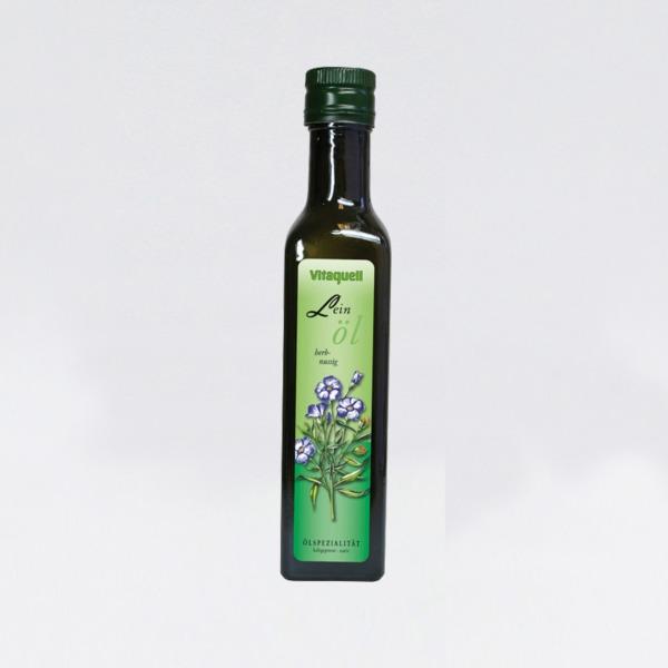 linfrø olje