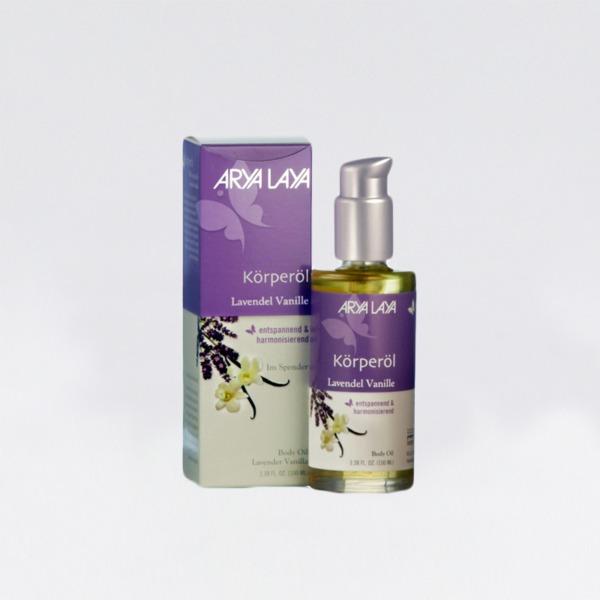 Bodyoil-Lavendel